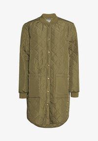 Culture - DONIA COAT - Short coat - burnt olive - 0