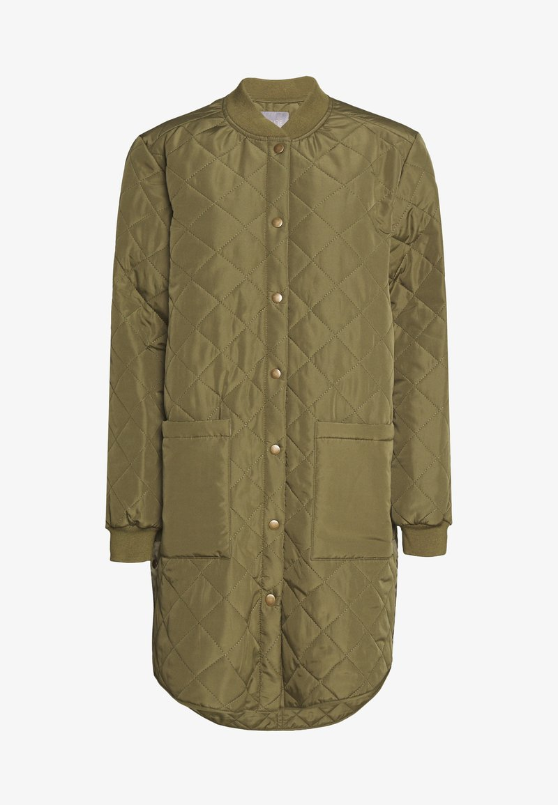 Culture - DONIA COAT - Short coat - burnt olive