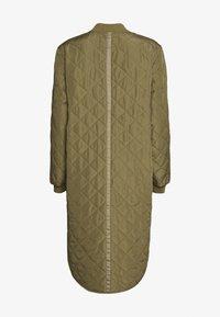 Culture - DONIA COAT - Short coat - burnt olive - 1