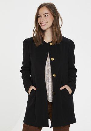 CUELENORA  - Halflange jas - black