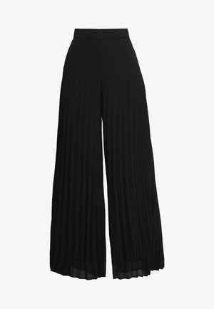 ALAYA - Trousers - anthracite black