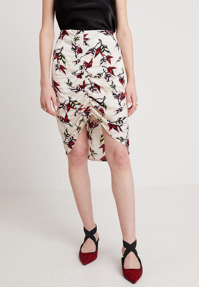 RABEA - A-line skirt - whisper white