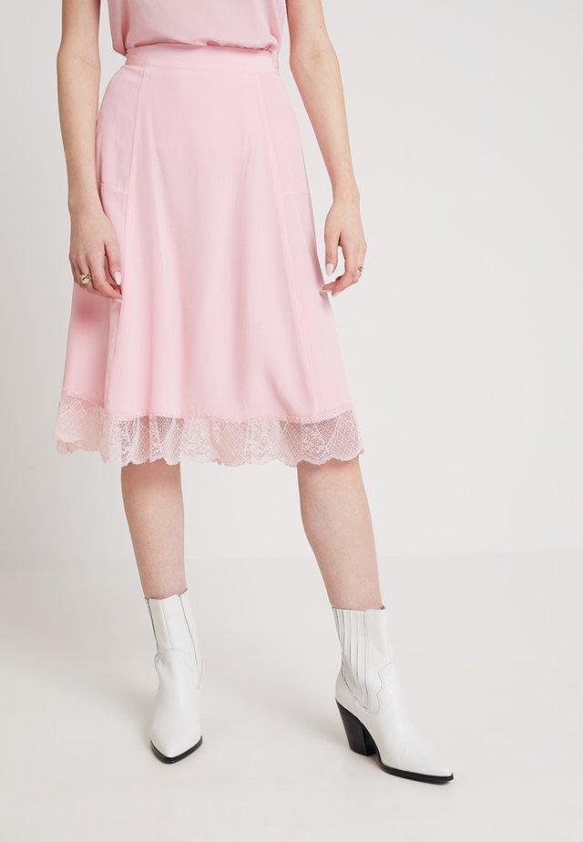 ANI - A-lijn rok - candy pink
