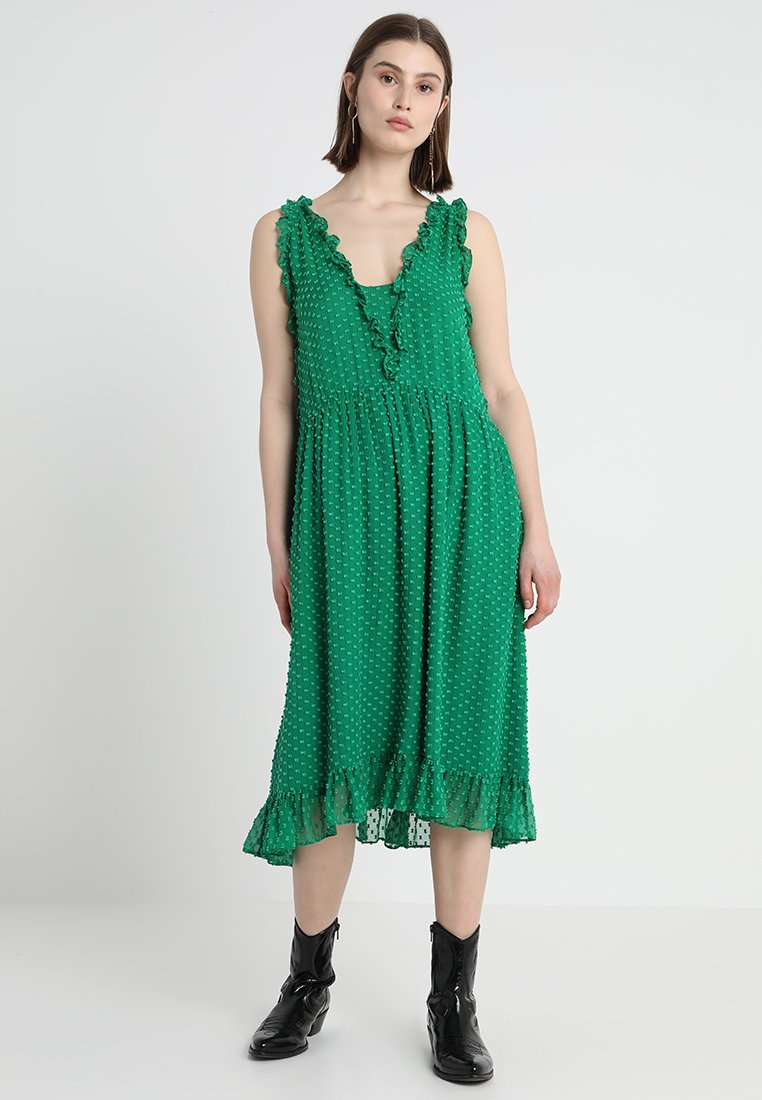 Custommade - NALIN - Freizeitkleid - jolly green