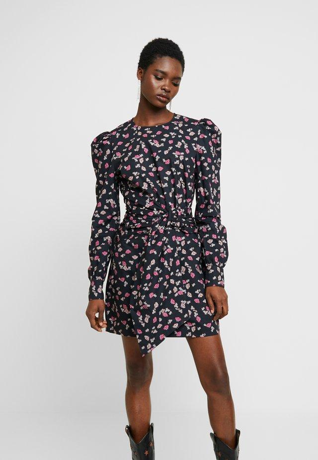 TARRA - Day dress - anthracite black