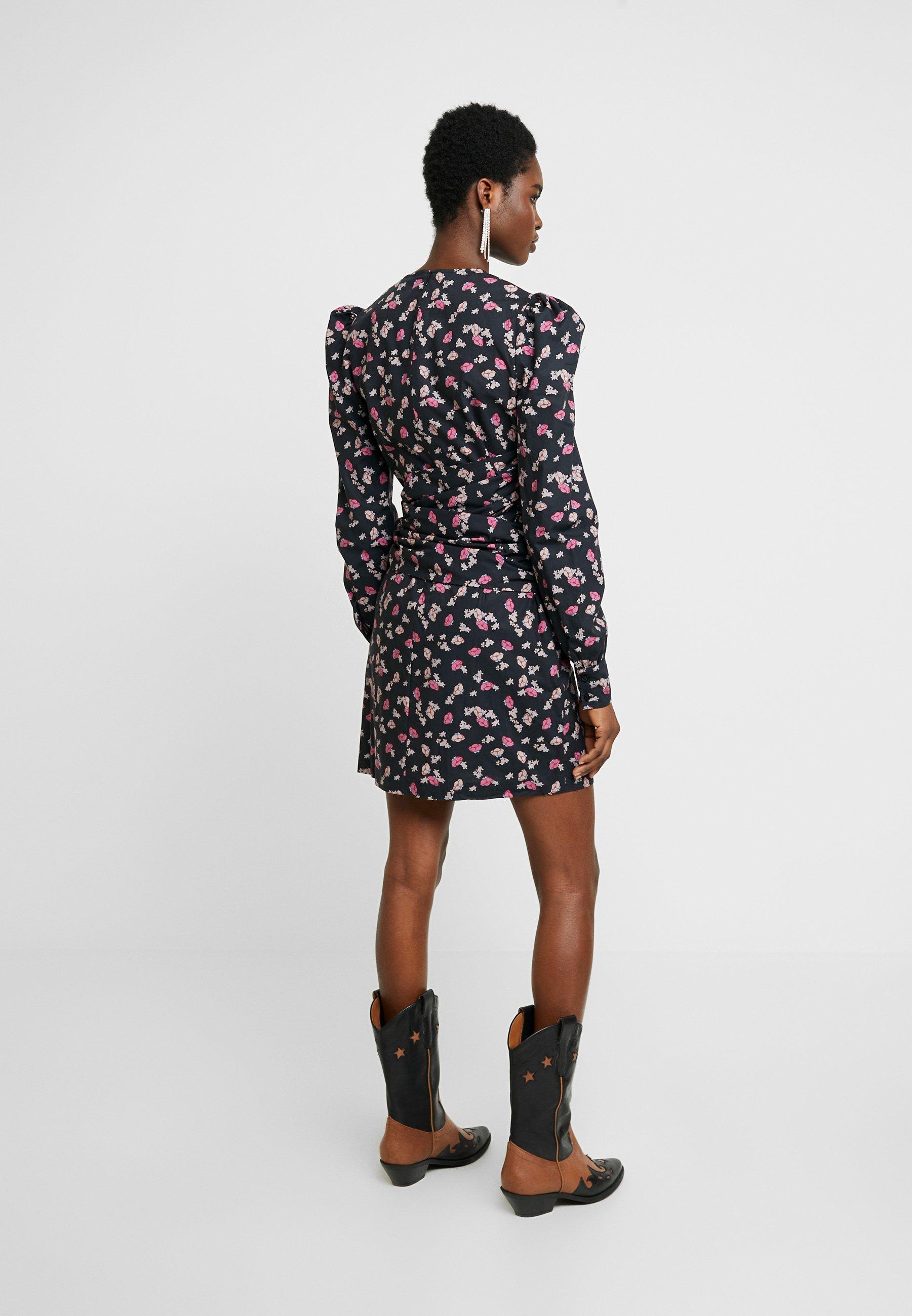 Custommade TARRA - Sukienka letnia - anthracite black