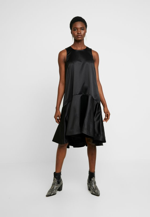 HENRICA BOW - Cocktail dress / Party dress - anthracite black