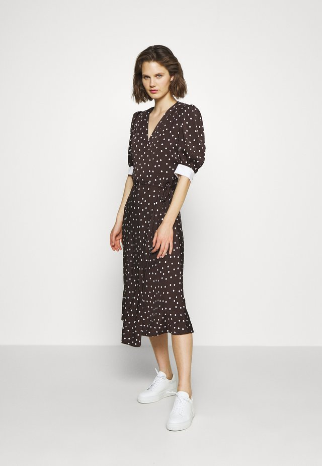 JESSIE DRESS - Korte jurk - mole brown