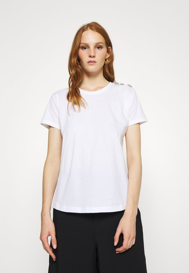 MOLLY - T-shirt basic - white