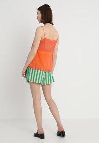 Custommade - POULINE - Linne - vermillion orange - 2