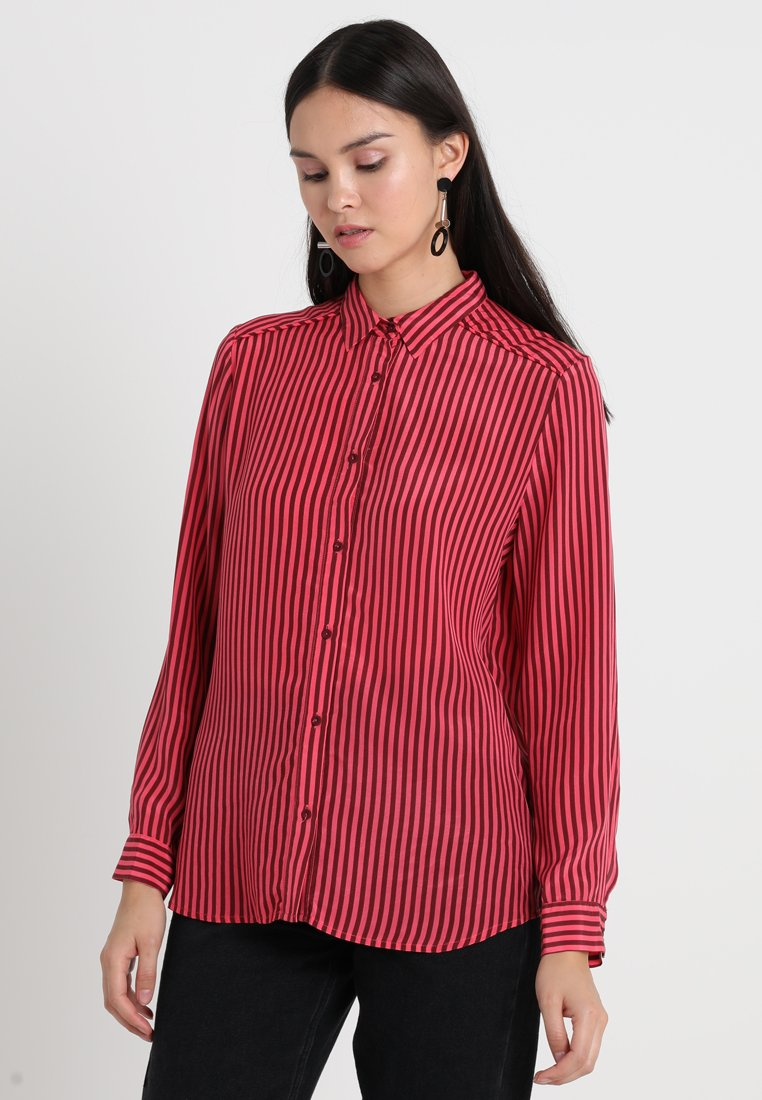 Custommade - TILDA - Button-down blouse - tawny port