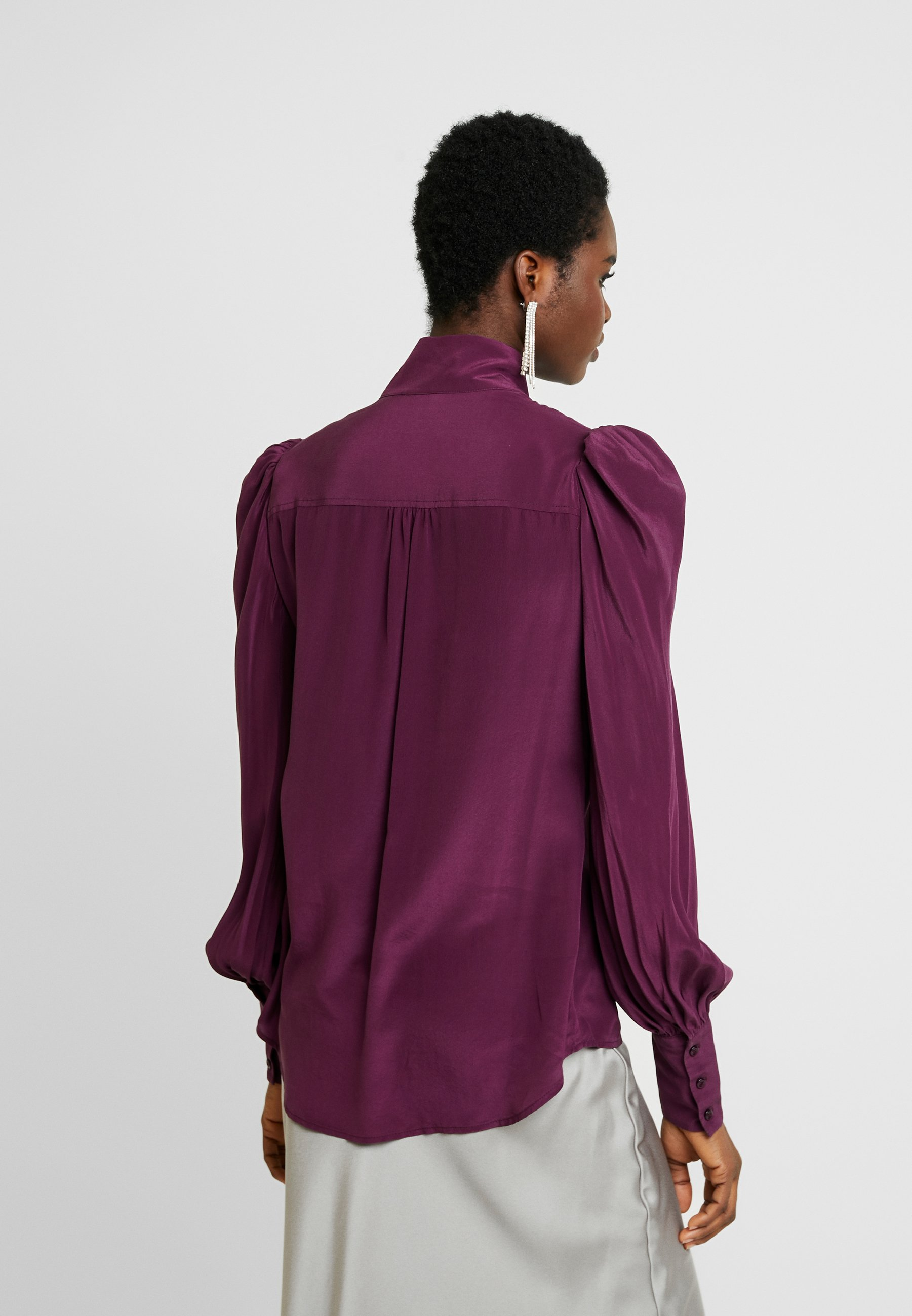 Custommade PELINE - Bluzka - potent purple