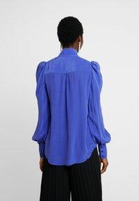 Custommade - PELINE - Bluzka - clematis blue - 2