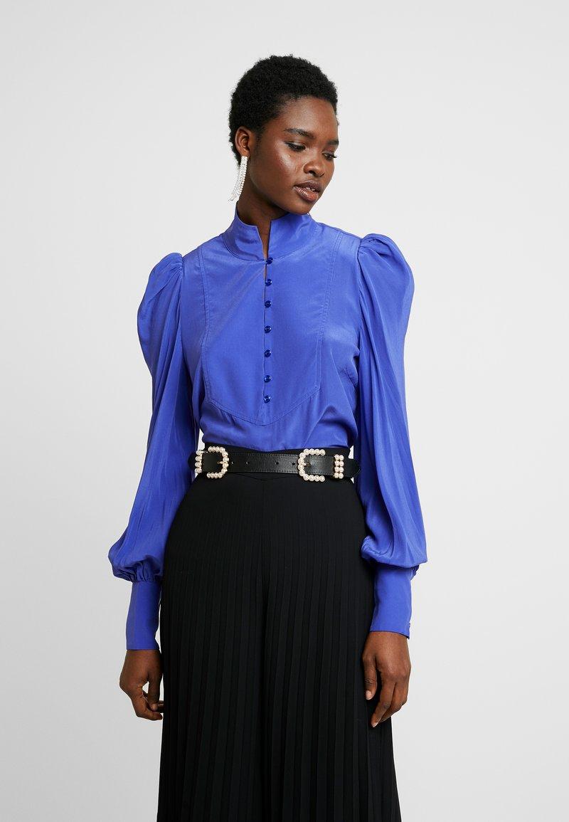 Custommade - PELINE - Bluzka - clematis blue