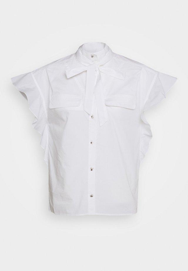 LINORA - Skjortebluser - white