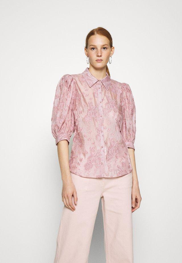 KESA - Button-down blouse - ash rose