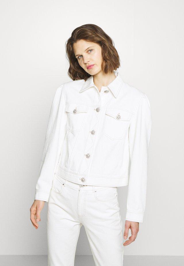 YOEL JACKET - Denim jacket - whisper white
