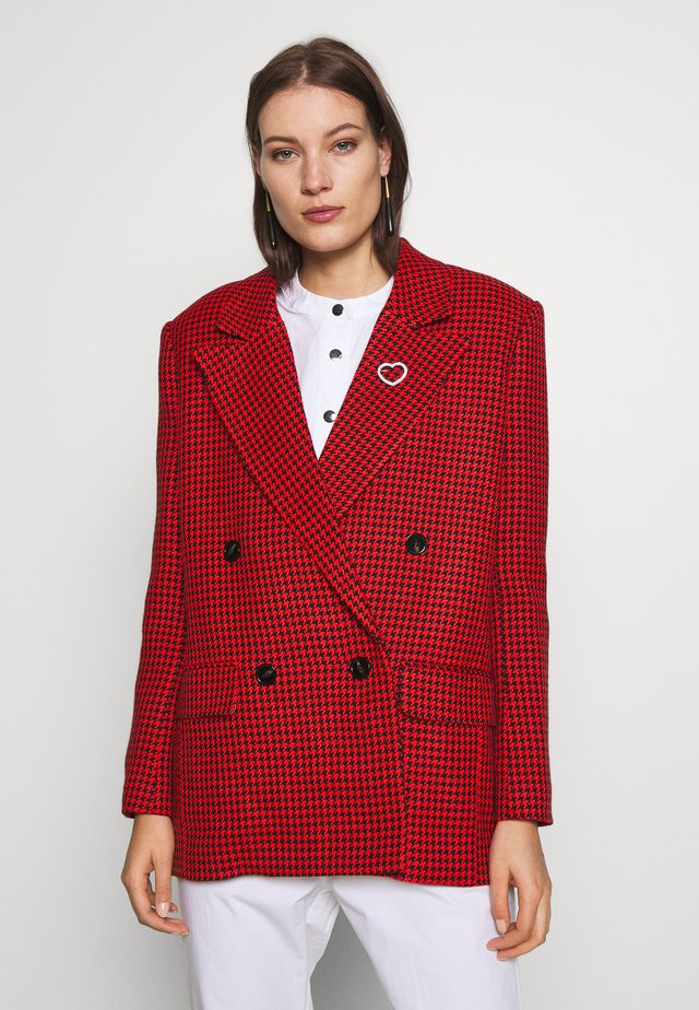 AGNES JACKET - Żakiet - poppy red