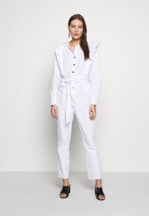 NIELA - Overall / Jumpsuit /Buksedragter - whisper white