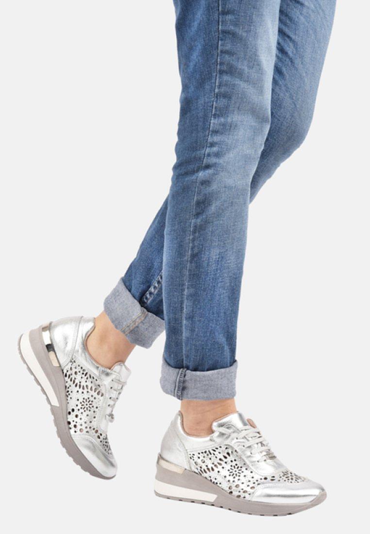 CUPLÉ - Sneakers laag - silver