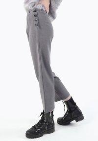 CUBIC - Pantalon classique - dark grey - 6