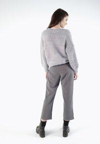 CUBIC - Pantalon classique - dark grey - 5