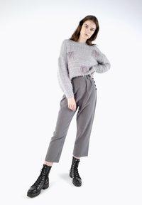 CUBIC - Pantalon classique - dark grey - 1