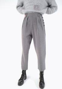 CUBIC - Pantalon classique - dark grey - 0