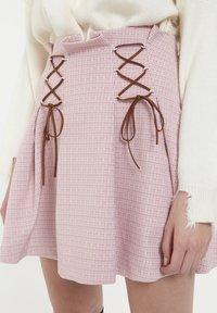 CUBIC - Jupe plissée - pink - 4