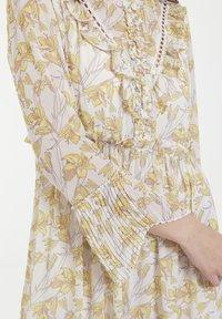 CUBIC - Robe d'été - yellow - 4