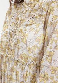CUBIC - Robe d'été - yellow - 5