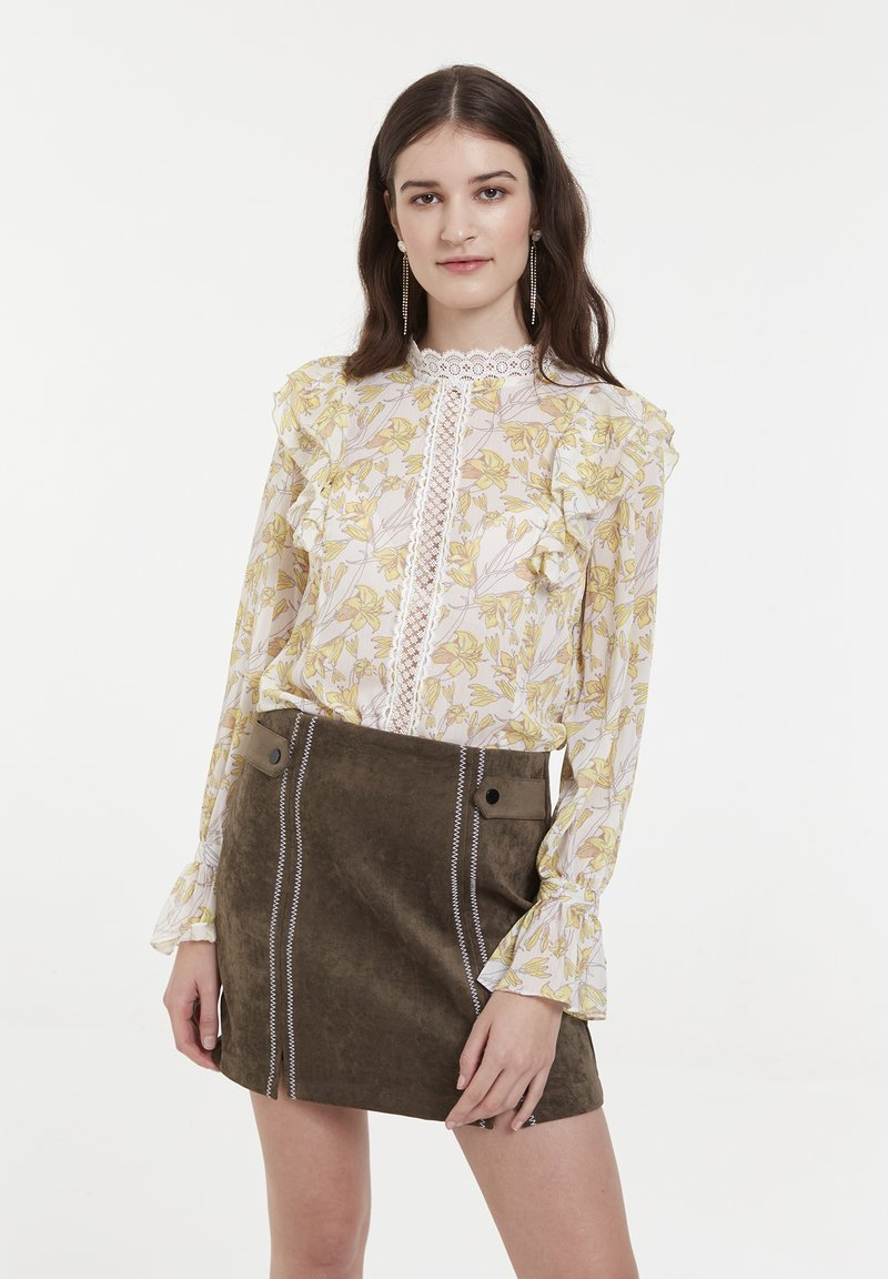CUBIC - Blouse - yellow