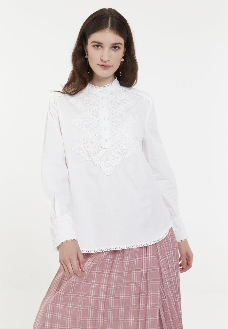 CUBIC - Blouse - white