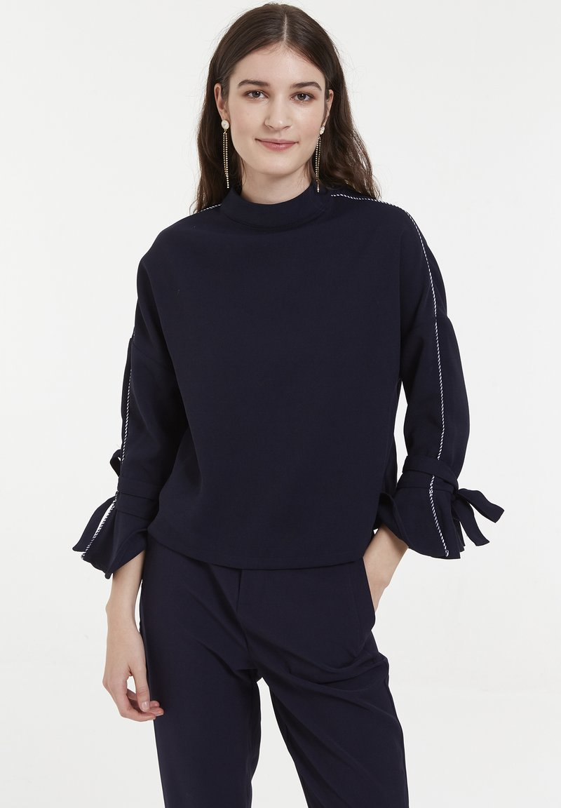 CUBIC - CUBIC  - Pullover - navy
