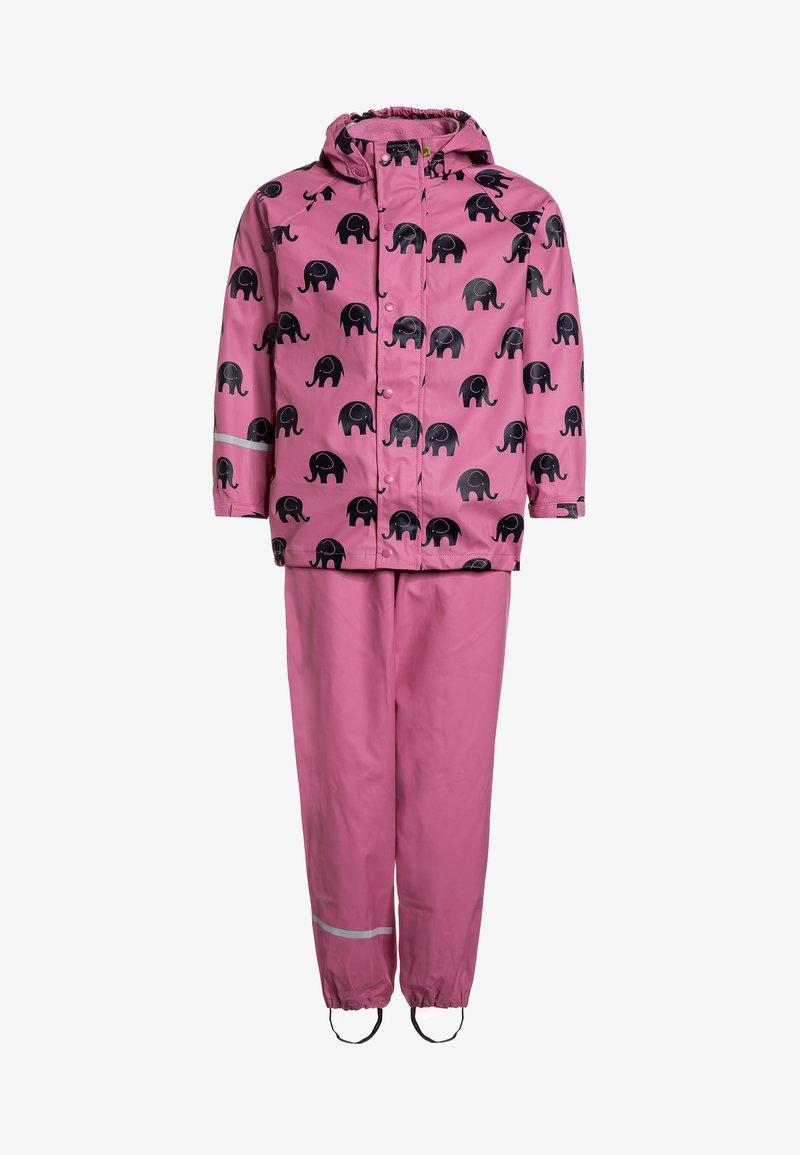 CeLaVi - RAINWEAR SUIT SET - Waterproof jacket - cheateau rose