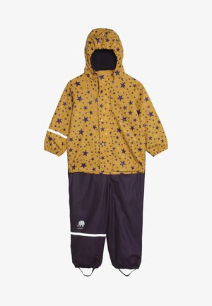 RAINWEAR SET - Regnbukser - mineral yellow