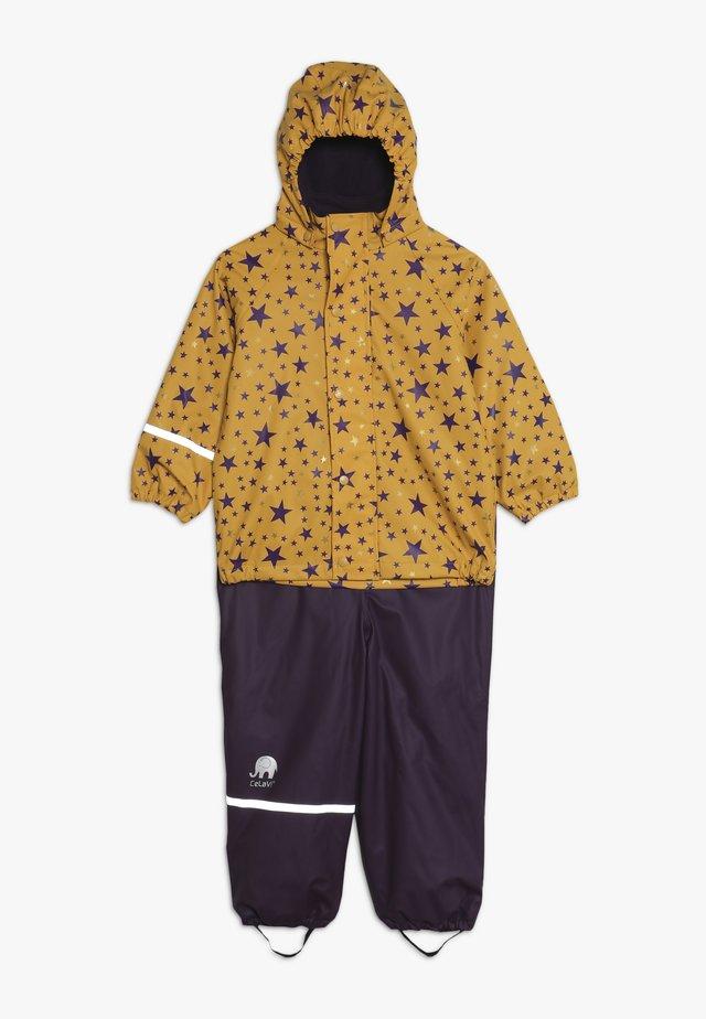RAINWEAR SET - Pantalon de pluie - mineral yellow