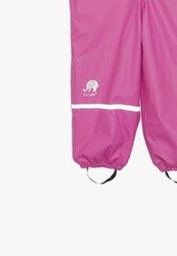 CeLaVi - RAINWEAR SET - Rain trousers - real pink - 7