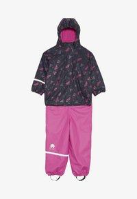 CeLaVi - RAINWEAR SET - Rain trousers - real pink - 6