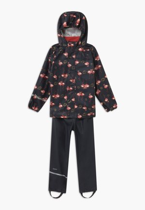 RAINWEAR SET - Pantalones impermeables - navy