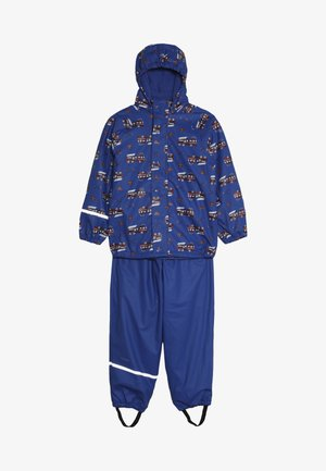 RAINWEAR SET - Pantalon de pluie - ocean blue