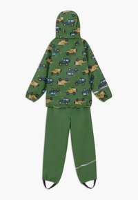 CeLaVi - RAINWEAR SET - Waterproof jacket - elm green - 1