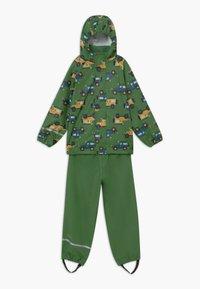 CeLaVi - RAINWEAR SET - Waterproof jacket - elm green - 0