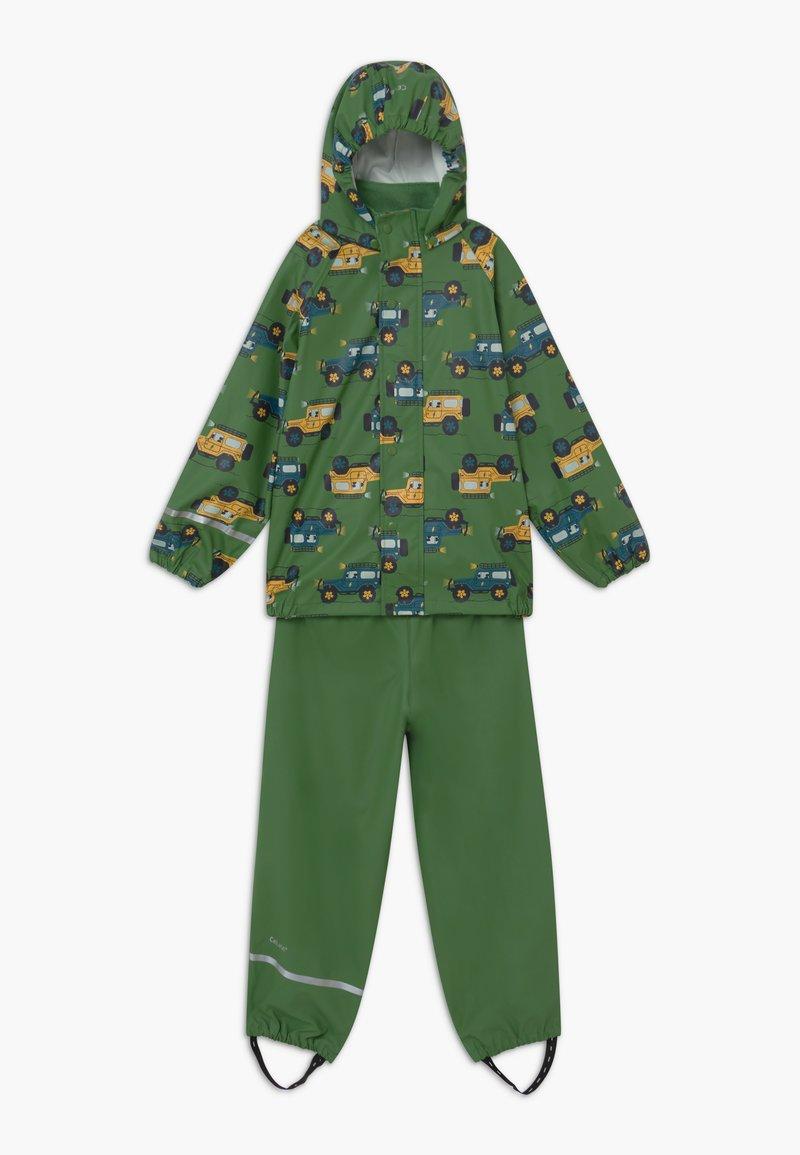CeLaVi - RAINWEAR SET - Waterproof jacket - elm green