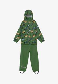 CeLaVi - RAINWEAR SET - Waterproof jacket - elm green - 4