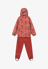 CeLaVi - RAINWEAR SET  - Rain trousers - baked apple - 4