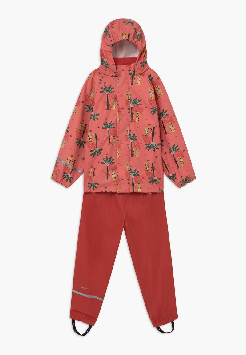 CeLaVi - RAINWEAR SET  - Rain trousers - baked apple