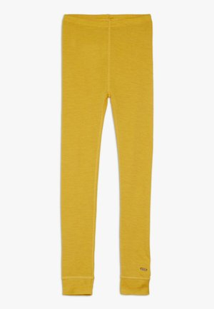 SOLID MELANGE - Leggings - mineral yellow