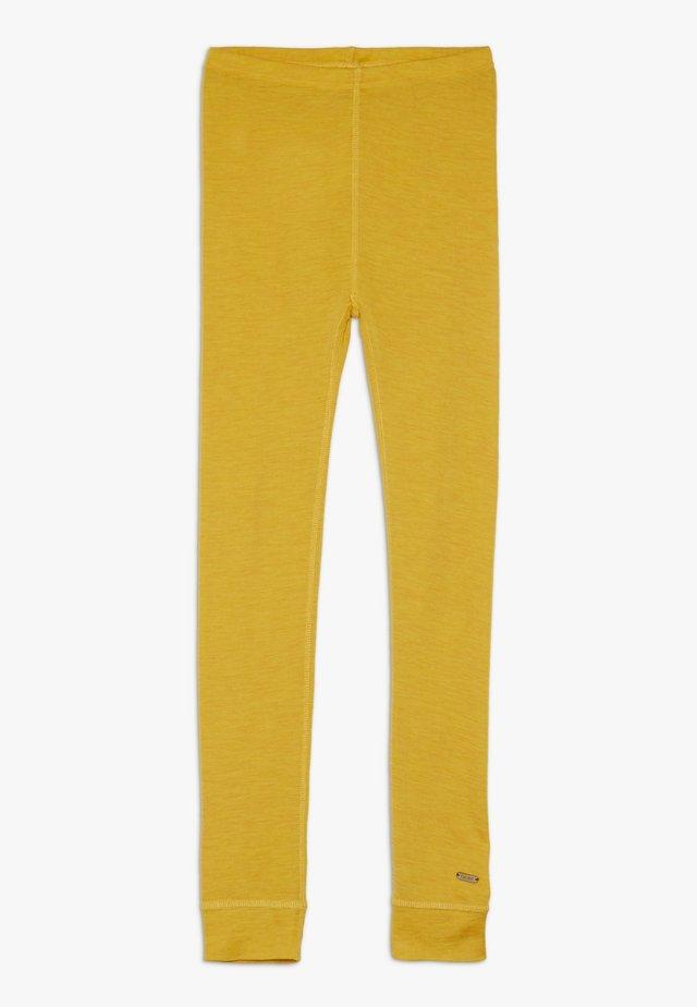 SOLID MELANGE - Leggings - Hosen - mineral yellow