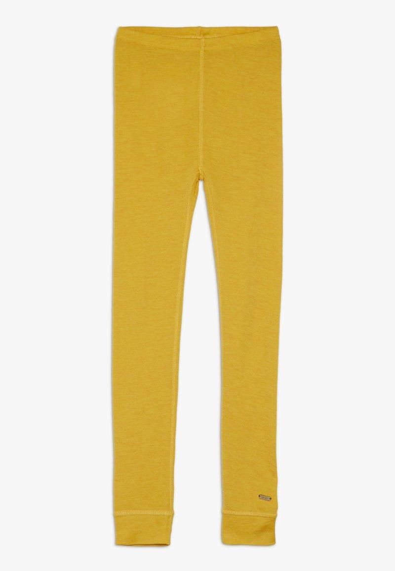 CeLaVi - SOLID MELANGE - Leggings - mineral yellow